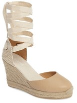 Soludos Women's Lace-Up Espadrille Wedge