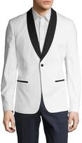 Antony Morato Men's Shawl Collar Tuxedo Jacket