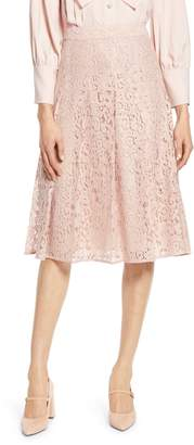 Halogen x Atlantic-Pacific Pleated Lace Skirt