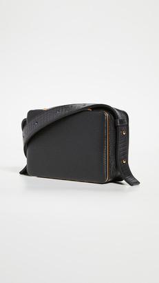 Croco Lutz Morris Maya Mini Strap Bag