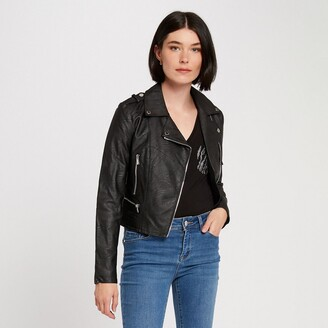 Morgan Faux Leather Jacket