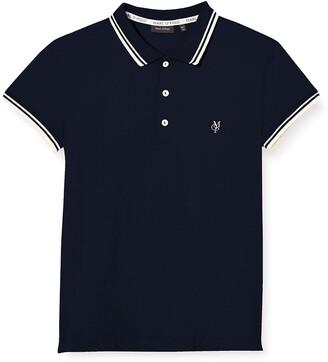 Marc O' Polo Kids Girls' Poloshirt 1/4 Arm Polo Shirt