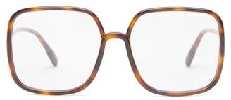 Christian Dior So Stellaire 1 Square Acetate Glasses - Tortoiseshell