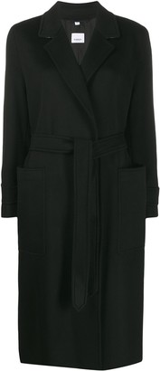 Burberry Belted Cashmere Overcoat