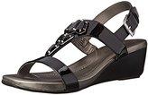 Bandolino Women's Hopton Synthetic Wedge Sandal