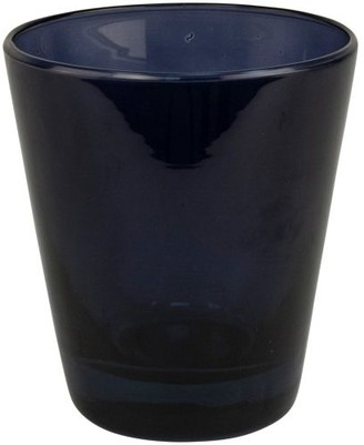 Grand Illusions - Set of 6 Oceana Glass Tumblers Cobalt Blue
