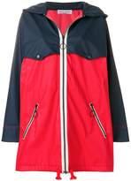 Sonia Rykiel two-tone parka jacket