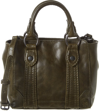 Frye Melissa Mini Leather Tote Crossbody