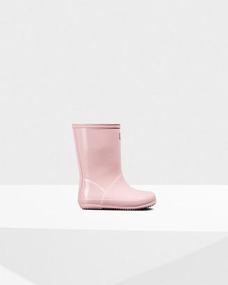 Hunter Original Kids First Classic Gloss Rain Boots