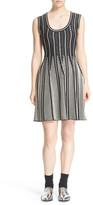 M Missoni Metallic Knit Scoop Neck Dress