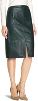 White House Black Market Leather Pencil Skirt