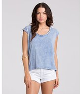 Billabong Junior's From Below Rolled Sleeve Knit Top