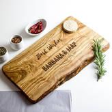 The Rustic Dish Personalised Raw Edge Cheese Board