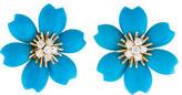 Van Cleef & Arpels Rose de Noël Turquoise Earrings