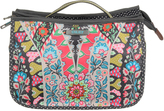 Oilily Charcoal Travel Fold Cosmetic Bag