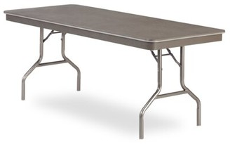 Virco 613072 - 6100 Series Folding Table, 30X72 Rectangle Top With Plastic Tip