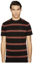 McQ by Alexander McQueen Striped T-Shirt Men's T Shirt