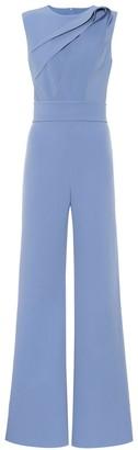 Safiyaa Kayo stretch-crepe jumpsuit