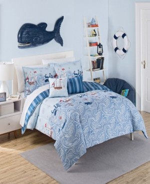 Waverly Ride The Waves Twin Comforter Collection, 2 Piece Bedding