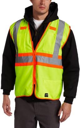 Key Apparel Key Industries Men's ANSI II Class 2 Hi-Visibility Solid Vest