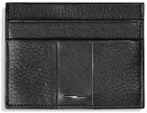 Shinola Men's Bolt Leather Card Case - Black