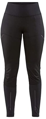 Craft ADV Essence Wind Tights (Black) Women's Casual Pants