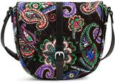 Vera Bradley Slim Saddle Bag