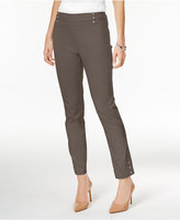 JM Collection Embellished Pull-On Ankle Pants, Created for Macy's