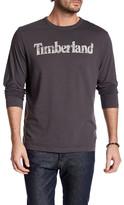 Timberland Long Sleeve Linear Logo Shirt