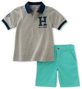 Tommy Hilfiger Two-Piece Polo Tee and Shorts Set