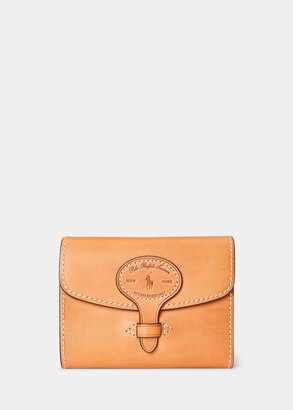 Ralph Lauren Vachetta Leather Compact Wallet