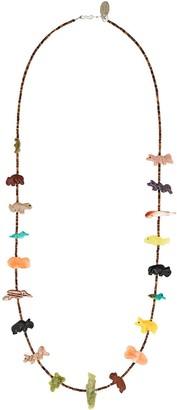 Jessie Western Animal Bead Necklace