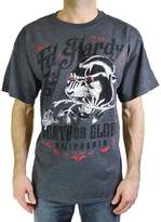 Ed Hardy Men's T Shirt Death and Glory Panther Tee