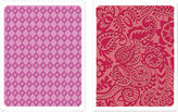 SIZZIX Sizzix Textured Impressions 2-pk. Embossing Folders, Diamond & Tropical Paisley