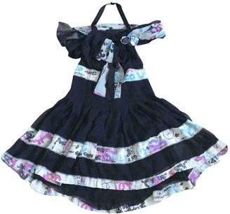 Chanel Black Silk Dresses
