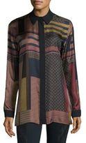 Lafayette 148 New York Sabel Silk Blouse