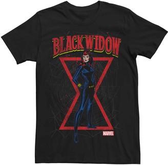 Marvel Men's Black Widow Graphic Tee