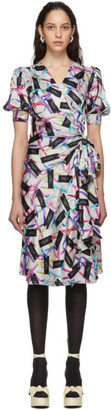 Marc Jacobs Multicolor The Wrap Dress