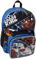 Fast Forward Backpack with Detachable Lunch Box - Cars