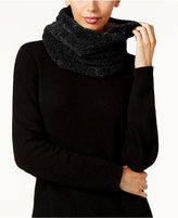 Charter Club Faux Sherpa Lined Chenille Snood Scarf, Only at Macy's
