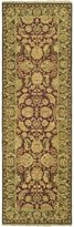 Safavieh Old World Collection Handmade Burgundy and Green Wool Area Runner, 2-Feet 6-Inch by 10-Feet