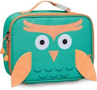 Bixbee Owl Water Resistant Lunchbox