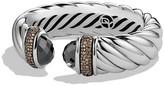 David Yurman Waverly Bracelet with Hematine & Gray Diamonds