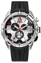 Reebok Impact Chrono Stainless Steel and Silicone Strap Watch