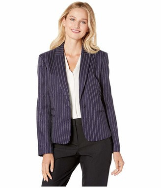 Tahari ASL Women's Double WELT Pocket Jacket