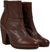Rag and Bone Rag & Bone Leather Classic Newbury Ankle Boots in Brown