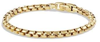 David Yurman Box Chain Bracelet in 18K Gold