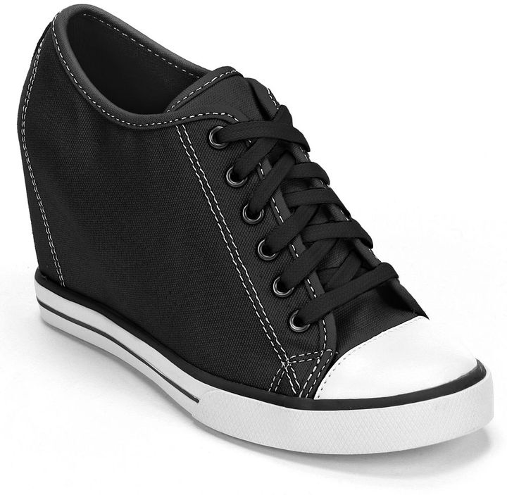 So ® wedge sneakers - women
