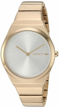 Lacoste Women's Mia Quartz Watch with Stainless-Steel Strap Yellow 14.5 (Model: 2001056)