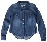 Levi's Toddler Button-Front Denim Shirt